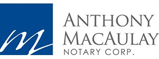 Anthony MacAulay Notary Public